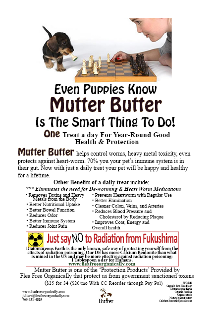 Mutter Butter single flyer radiation