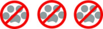NO toxic pet 3 paw graphic